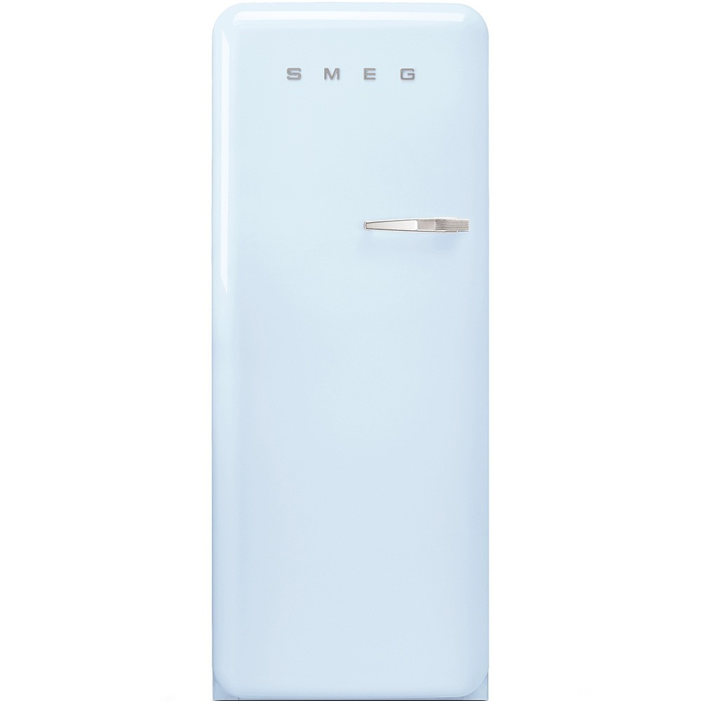 Anni 50 Frigorifero Smeg smeg fab28lpb3 - frigorifero monoporta smeg anni '50, azzurro, 270 lt, 60  cm, cerniere a sinistra, a+++