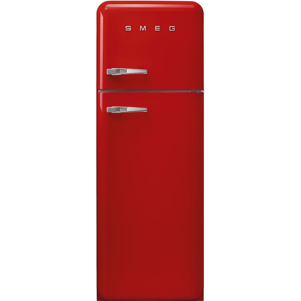 Frigorifero Americano Anni 50 smeg fab30rrd3 - frigorifero doppia porta smeg anni '50, rosso , 294 litri,  cerniere a destra , a+++