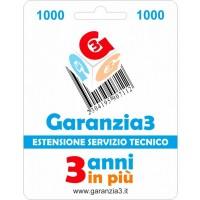 GARANZIA3 500€ Estensione del servizio tecnico