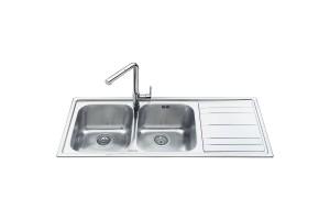 Lavelli SMEG in acciaio inox per cucina | Trovaincasso