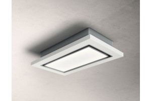 ELICA PRF0146227 LULLABY WH WOOD/A/120 CAPPA A SOFFITTO CEILING LEGNO BIANCO INOX