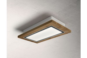 ELICA PRF0146229 LULLABY WOOD/A/120 CAPPA A SOFFITTO CEILING ROVERE INOX
