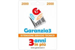 GR3V-2000 - Per prodotti di valore fino ad Euro 2000