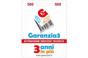 GR3V-500 - Per prodotti di valore fino ad Euro 500
