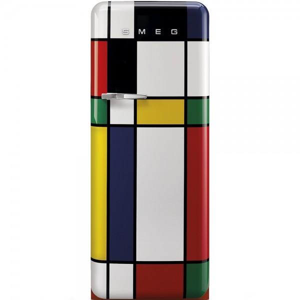 Smeg FAB28RDMC3- Frigorifero Monoporta Smeg Anni \'50, Multicolor, 270 Lt,  60 cm, Cerniere a Destra, A+++