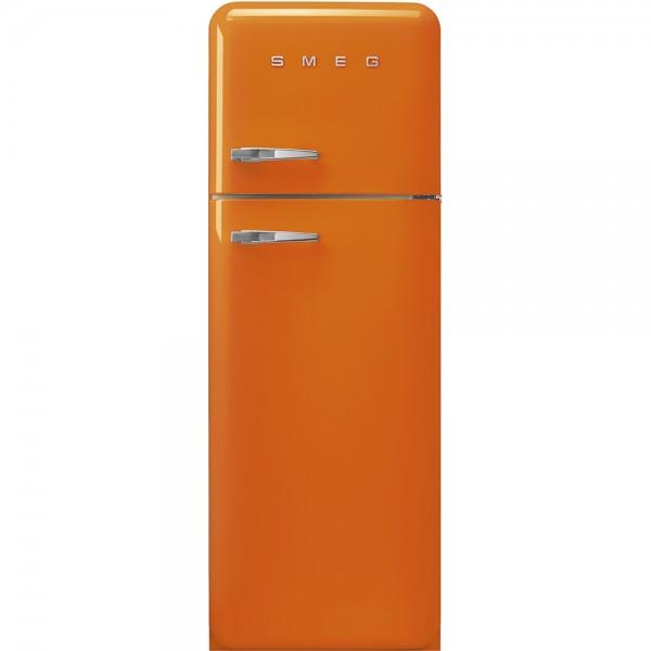 Smeg FAB30ROR3 - Frigorifero Doppia Porta Smeg Anni \'50, Arancione, 294  Litri, Cerniere a Destra , A+++