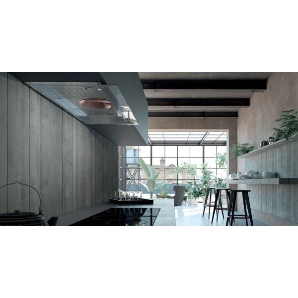 Faber Cappa Cucina Aspirante Incasso Sottopensile 60 cm x 50 cm TCH04WH16A