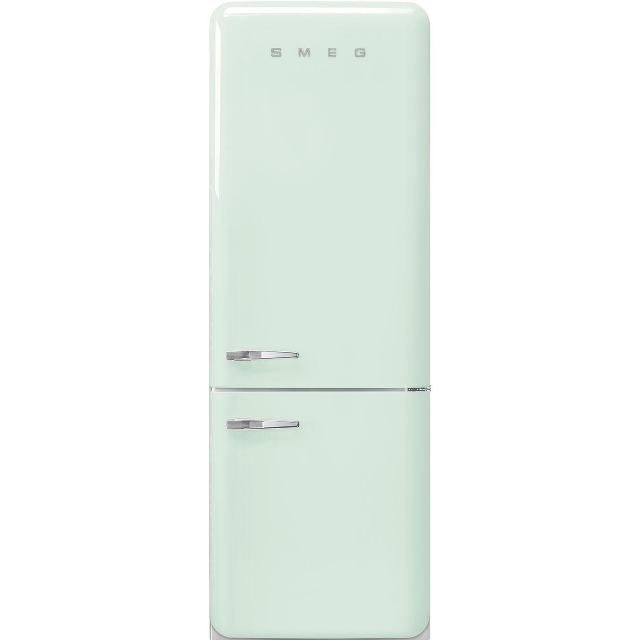Frigorifero Americano Anni 50 smeg fab38rpg - frigorifero combinato smeg anni '50, verde pastello  ,larghezza 70 cm , 461 litri, cerniere a destra , a++ , total no frost